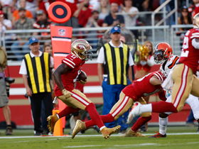 49ers answer Browns' trickery on speedy Goodwin reverse