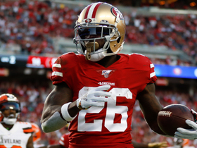 Niners' OL paves the way for Tevin Coleman's speedy 19-yard TD