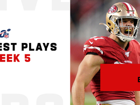 Best plays from Nick Bosa's dominant 'MNF' debut | Week 5