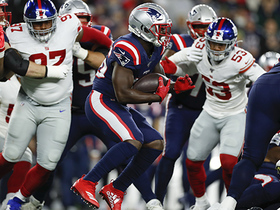 Giants stop Sony Michel just short on fourth down