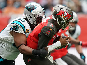 Former Buc Gerald McCoy swarms Jameis for sack