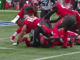 Kevin Minter recovers punt-return forced fumble by Ryan Smith