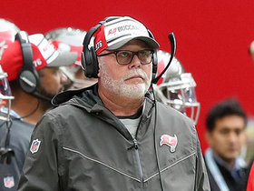 Bruce Arians completely beside himself after another muffed punt
