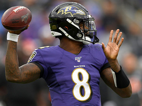 Lamar Jackson finds wide-open Mark Andrews on 20-yard catch and run