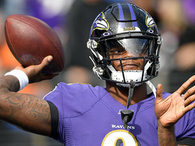Lamar Jackson delivers perfect strike to Mark Andrews for HUGE gain