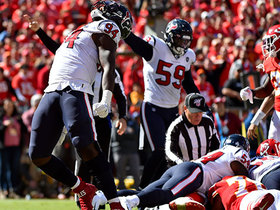 Texans rookie Charles Omenihu flies in for strong strip-sack on Mahomes