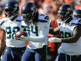 Ziggy Ansah uses 'Peanut Punch' to deliver huge fumble and recovery for Seahawks