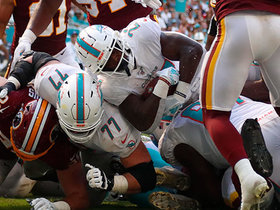 Kalen Ballage gives Fins' first TD with 1-yard rushing plunge