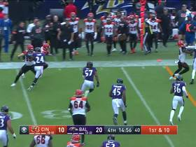 Alex Erickson shows off speed on 17-yard jet sweep run
