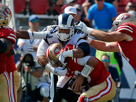 Aaron Donald flies off edge for third-down sack
