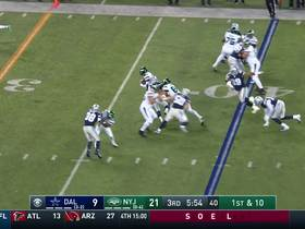 Le'Veon flashes vintage patience on 13-yard saunter