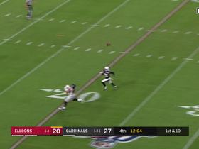 Matt Ryan uncorks 30-yard dime to Austin Hooper on TE throwback