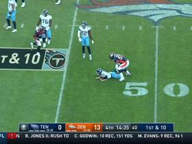 DeMarcus Walker bears down on Tannehill for sack