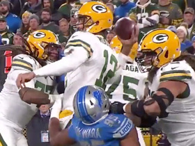 Aaron Rodgers converts first-and-20 to Geronimo Allison under pressure