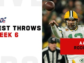 Aaron Rodgers' best fourth-quarter throws | Week 6