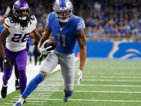 Marvin Jones uses smooth sideline spin move for TD catch and run