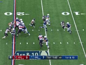 Texans defense smothers Brissett on first-down sack