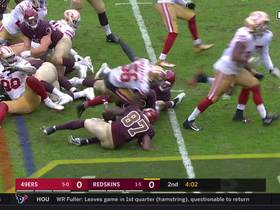 STUFFED! Niners D comes up big with fourth-down stop