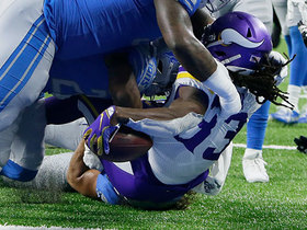 Dalvin Cook outmuscles trio of Lions defenders for strong TD run