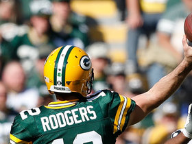 Rodgers dials long distance to Valdes-Scantling for 59 yards