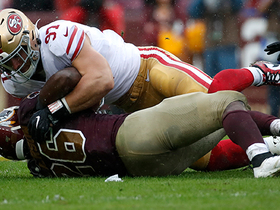 Niners pounce on A.P.'s first fumble of season for key takeaway