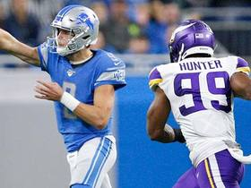 Danielle Hunter DROPS Matthew Stafford for big loss