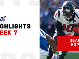 Every DeAndre Hopkins catch from 106-yard game | Week 7