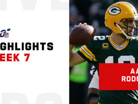 Rodgers' best throws from FIVE-TD passing day | Week 7