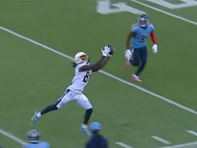 Can't-Miss Play: Mike Williams uses every inch of 6-foot-5 frame for toe-tapping grab