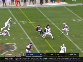 Allen Robinson unleashes fancy footwork on slant route for 12-yard catch and run