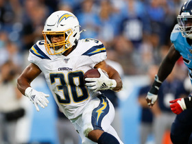 Rivers find an open Austin Ekeler for a 19-yard catch and run