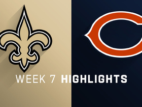 Saints vs. Bears highlights | Week 7