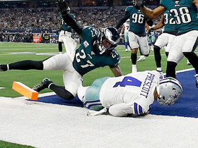Dak's dash to the end zone gives Dallas four-possession lead