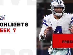Dak Prescott's most impressive throws on 'SNF' | Week 7
