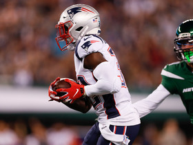 Devin McCourty corrals Darnold's errant throw for early Pats turnover