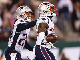 Patriots force end-zone INT for FIFTH turnover of the game