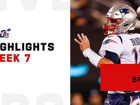 Tom Brady's best throws against the Jets on 'MNF' | Week 7