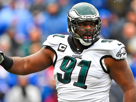 Fletcher Cox ends Bills first drive by getting to Josh Allen