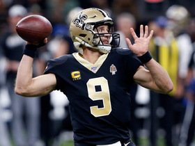 Brees is back! QB finds Thomas on first completion back from injury