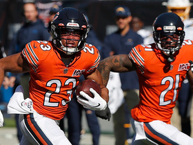PICK! Kyle Fuller almost takes it to the house following Rivers INT
