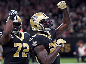 Saints' OL paves the way for Latavius Murray TD