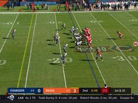 Bears' double-pass trick play only results in 4-yard gain