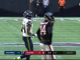 Lockett makes insane one-hand grab look easy for third-and-long pickup
