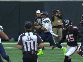Falcons D swallows up Wilson for first sack of the game