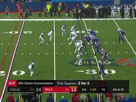 Ronald Darby's fantastic pass breakup on fourth down ends Bills drive