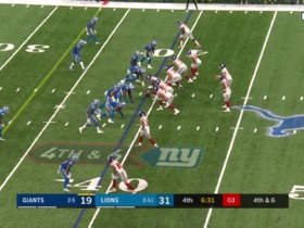 Justin Coleman makes fourth-down stop against Golden Tate