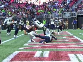 Austin Hooper posts up on K.J. Wright for late TD grab