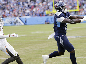 Ryan Tannehill rips TD to A.J. Brown to give Titans late lead