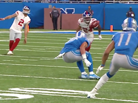 Giants' failed onside kick seals win for Lions