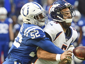 Ben Banogu lowers the boom for strip-sack of Flacco to seal Colts' win